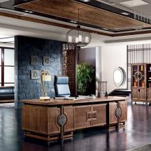 办公家具实木办公桌总裁桌老板桌