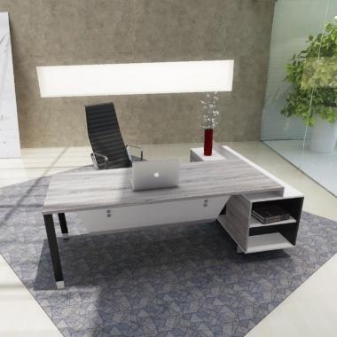 经理位经理桌板式办公桌