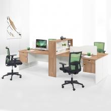 办公家具办公桌四人位组合工位职员桌