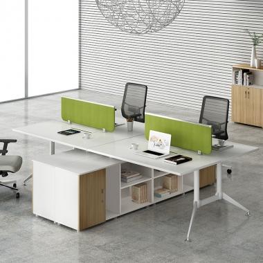 办公家具办公桌 现代简约 职员桌 组合屏风工作位