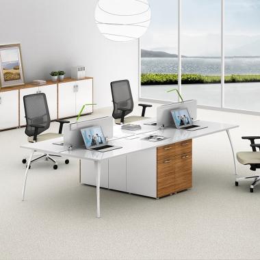 办公家具 职员办公桌 屏风工位 现代简约 员工桌