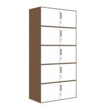 【红心家居】分体五节文件柜办公柜钢制拆装铁皮柜资料柜档案柜矮柜子带锁 分体五节柜