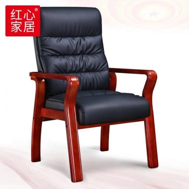 【红心家居】会议椅开会椅子实木职员电脑培训椅办公班椅 办公椅